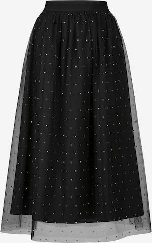 APART Tüllrock aus weichem Tüll in Schwarz