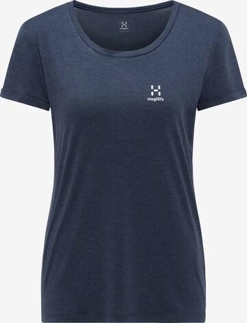 Haglöfs Functioneel shirt 'Ridge Hike' in Blauw