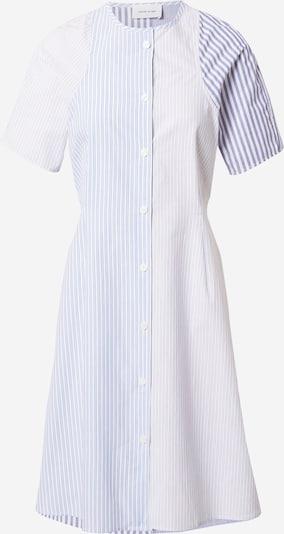 WOOD WOOD Kleid 'Sia' in hellblau / hellgrau / weiß, Produktansicht