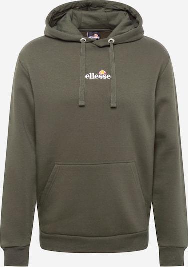ELLESSE Sweatshirt 'Hyde' in khaki / weiß, Produktansicht
