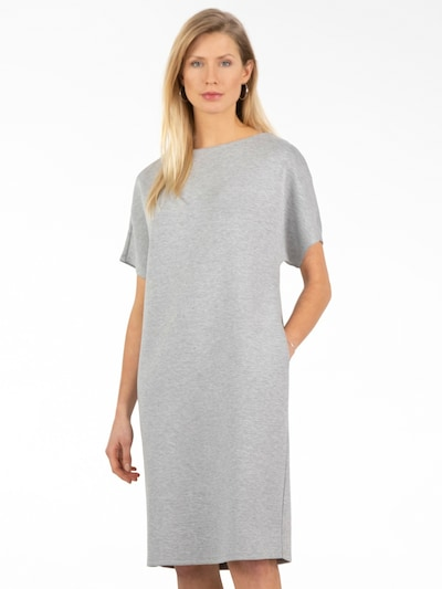 APART Oversized Dress in mottled grey, View model