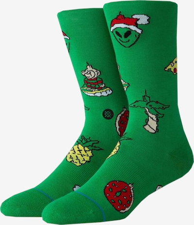 Stance Socken in grasgrün, Produktansicht