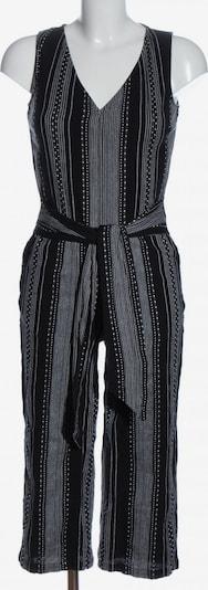 NEXT Jumpsuit in S in schwarz / weiß, Produktansicht