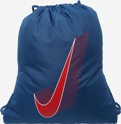 Nike Sportswear Sacs à cordon en marine / rouge feu / blanc, Vue avec produit