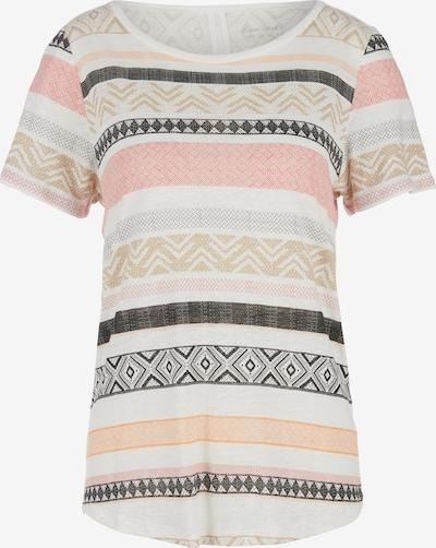 s.Oliver Shirt in de kleur Crème / Gemengde kleuren, Productweergave