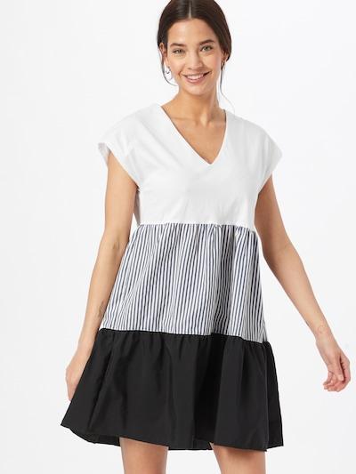 tengerészkék / fehér Trendyol Nyári ruhák, Modell nézet