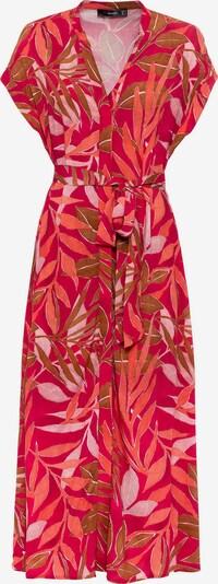 HALLHUBER Kleid in mischfarben / rot, Produktansicht