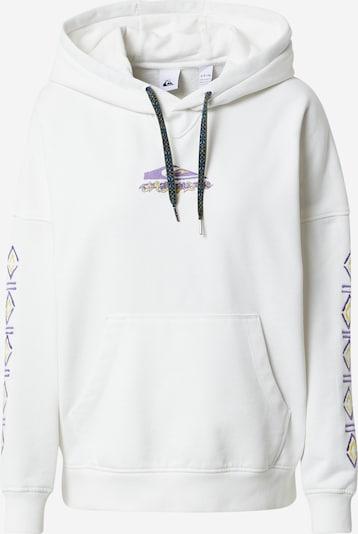 QUIKSILVER Sweatshirt in de kleur Geel / Lila / Wit, Productweergave