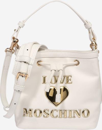 Love Moschino Ročna torbica | zlata / bela barva, Prikaz izdelka