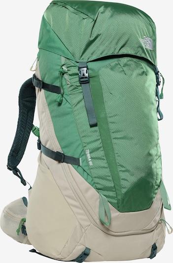 THE NORTH FACE Sportrugzak 'Terra' in de kleur Beige / Groen, Productweergave