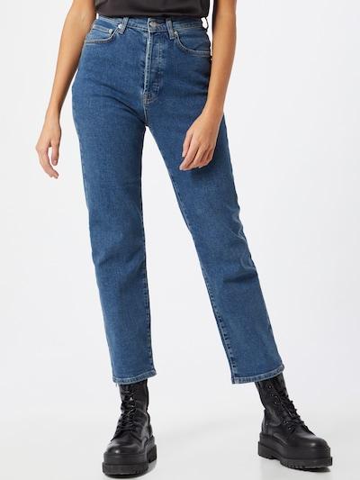 Jeans NA-KD pe denim albastru, Vizualizare model