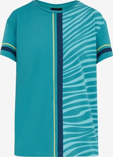 Finn Flare Kurzarmshirt in grün, Produktansicht