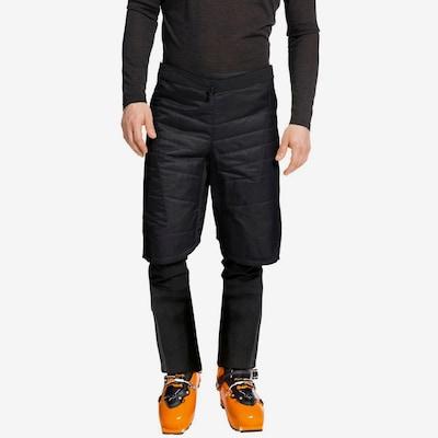 VAUDE Thermohose 'Sesvenna II' in schwarz / weiß: Frontalansicht