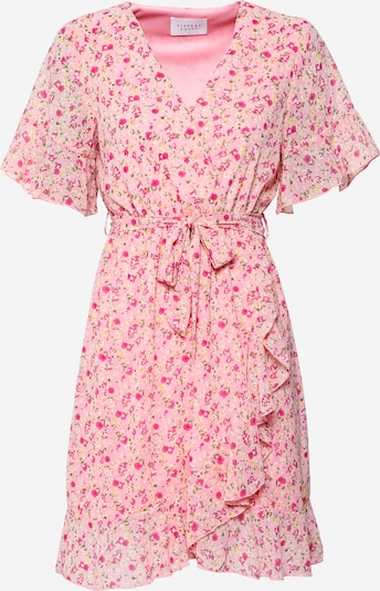 SISTERS POINT Ljetna haljina 'NEW GRETO-6' u zelena / roza / tamno roza / bijela, Pregled proizvoda