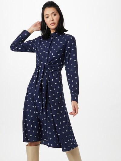 Lauren Ralph Lauren Košeľové šaty - námornícka modrá / biela, Model/-ka