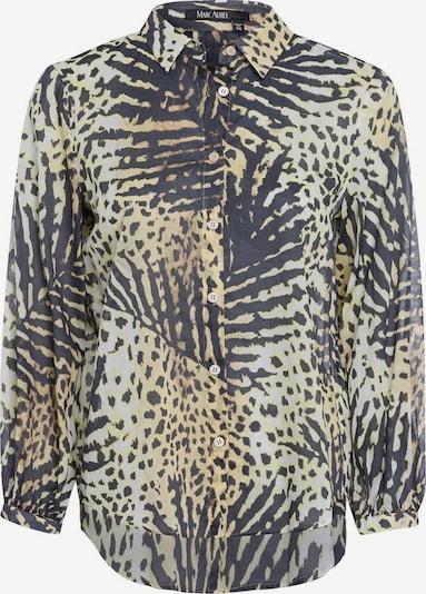 MARC AUREL Bluse in beige / nachtblau / hellbraun, Produktansicht