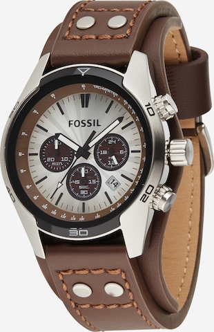 FOSSIL Analog Watch 'Coachman' in Brown