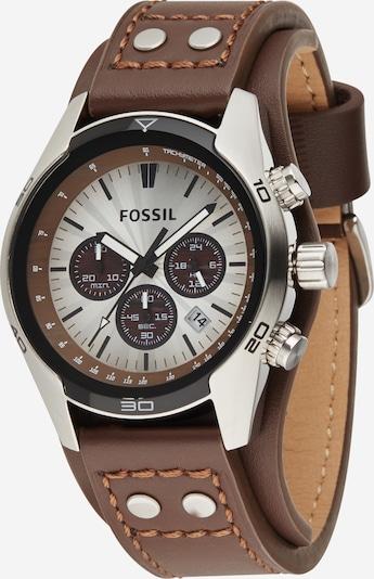FOSSIL Аналогов часовник 'Coachman' в тъмнокафяво / антрацитно черно / сребърно, Преглед на продукта