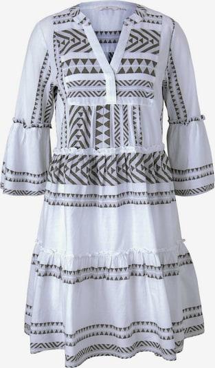 TOM TAILOR Šaty - šedá / bílá, Produkt