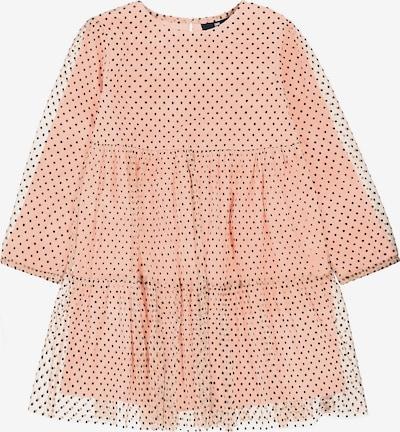 BASEFIELD Kinder Jerseykleid in apricot, Produktansicht