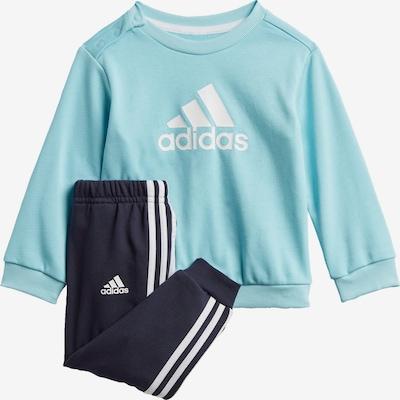 ADIDAS PERFORMANCE Trainingspak in de kleur Aqua / Zwart / Wit, Productweergave