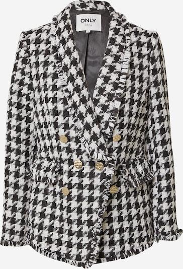 ONLY Blazer 'Essie-Leela' en noir / blanc, Vue avec produit