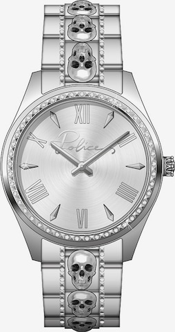 POLICE Analog Watch in Silver