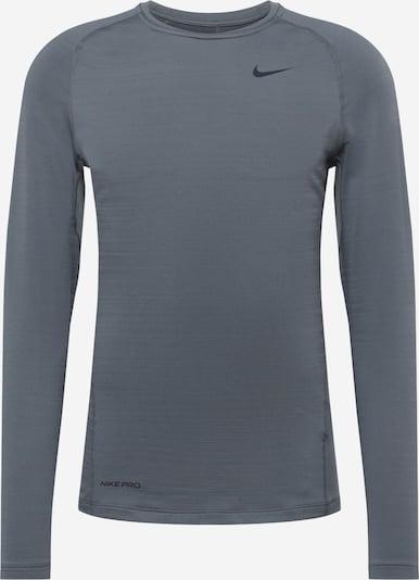 NIKE Camiseta funcional en gris oscuro / negro, Vista del producto