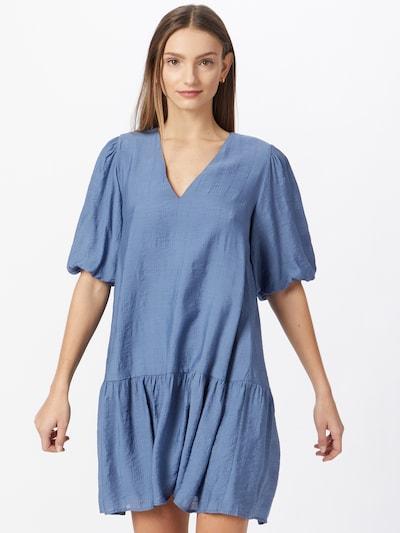 mbym Kleid in rauchblau, Modelansicht
