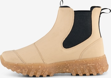 WODEN Chelsea Boots ' Magda ' in Beige