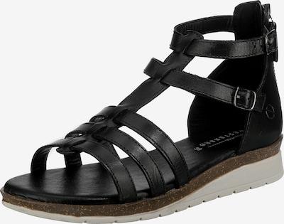 Paul Vesterbro Sandale in schwarz, Produktansicht