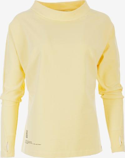 HELMIDGE Sweatshirt in hellgelb / schwarz, Produktansicht