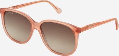 LACOSTE Sonnenbrille 'L949S' in braun / rosa, Produktansicht