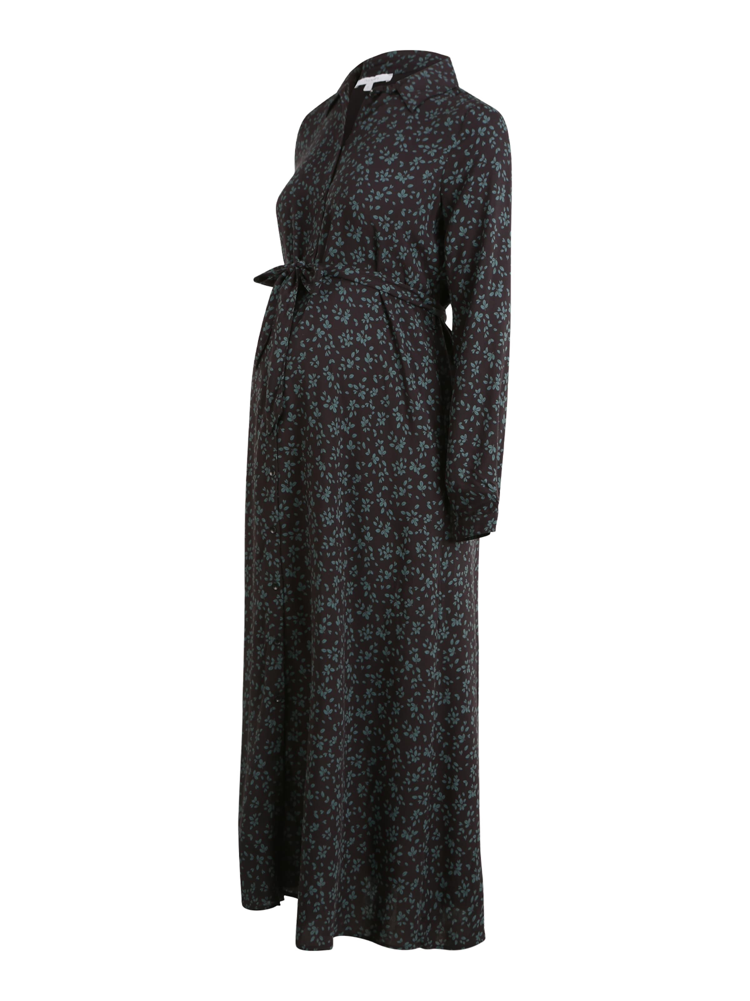 Noppies Skjortklänning i grön / svart