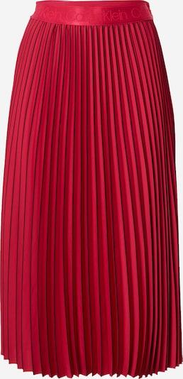 Calvin Klein Пола 'SUNRAY' в червено / черно, Преглед на продукта
