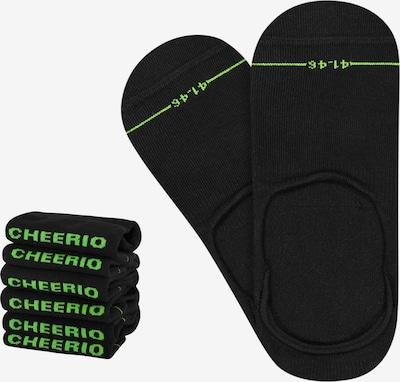 CHEERIO* Socken 'INVISIBLE FELLOW 6P' in de kleur Zwart, Productweergave