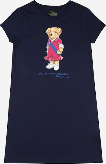 POLO RALPH LAUREN Kleid in navy / mischfarben, Produktansicht