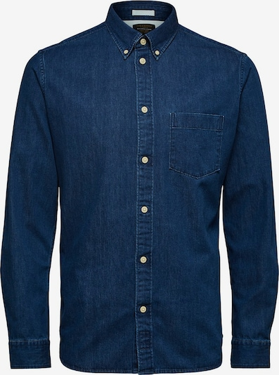 SELECTED HOMME Jeanshemd in blau: Frontalansicht