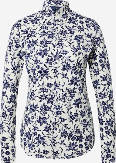 POLO RALPH LAUREN Bluse 'HEIDI' in creme / navy, Produktansicht