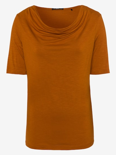 zero Shirt in orange: Frontalansicht