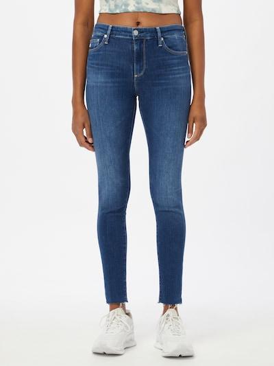 AG Jeans Jeans 'Farrah' in blue denim, Modelansicht