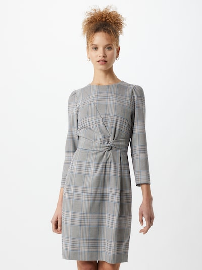 Marella Pouzdrové šaty 'RUM' - béžová / modrá / šedá, Model/ka