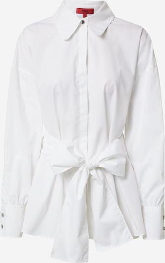 HUGO Blouse 'Eilish' in de kleur Zwart / Wit, Productweergave