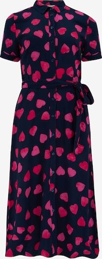 Sugarhill Brighton Kleid in navy / pink, Produktansicht