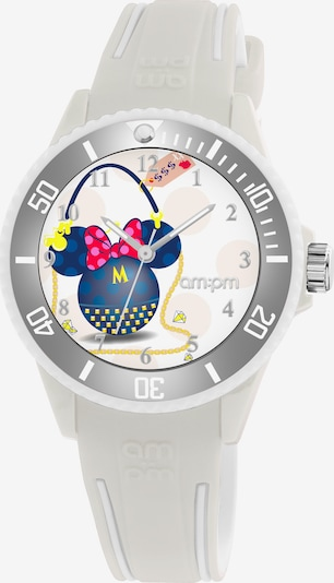 AM:PM Quarzuhr 'Amazing Disney Minnie Timepiece' in blau / gelb / grau / rot, Produktansicht