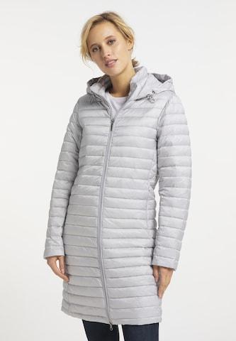 Usha Between-Seasons Coat in Grey