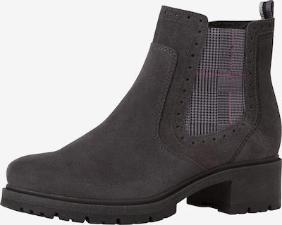 JANA Chelsea Boots en taupe, Vue avec produit