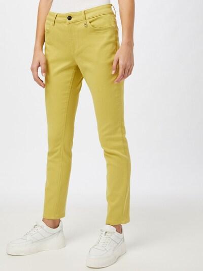 COMMA Jeans in gelb, Modelansicht