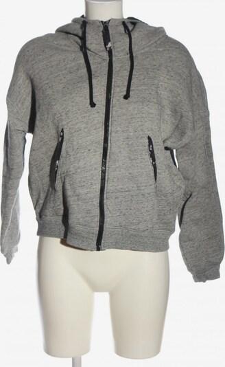 EDC BY ESPRIT Kapuzensweatshirt in M in hellgrau / schwarz, Produktansicht