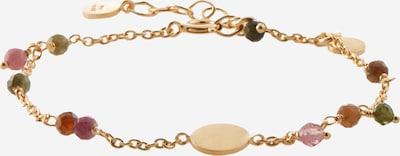 Pernille Corydon Jewellery Rannekoru 'Afterglow' värissä kulta / sekavärit, Tuotenäkymä